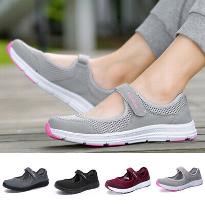 Running Sneakers Shoes Trainers Summer Beach Women Mesh Sports Casual Hollow