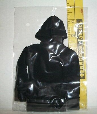 1/6 Scale Male Fashion Doll Black Hoodie Coat Clothes Accessory Only