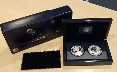 2012 United States Mint American Eagle San Francisco Two-Coin Silver Proof Set