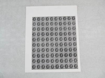 Nystamps E Old US CSA Confederate State Rare stamp reprint full sheet