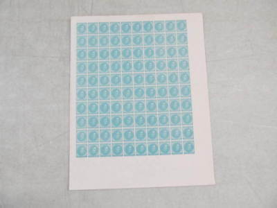 Nystamps X Old US CSA Confederate State reprint stamp rare full sheet !