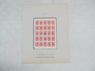 Nystamps Russia Ukraine mint old stamp sheet
