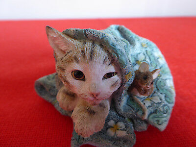 Country Artists ~ Kitten With Mouse ~ 01446 ~ Excellent ~ No Box