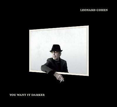 CD ° Leonard Cohen ° You want it darker ° NEU & OVP