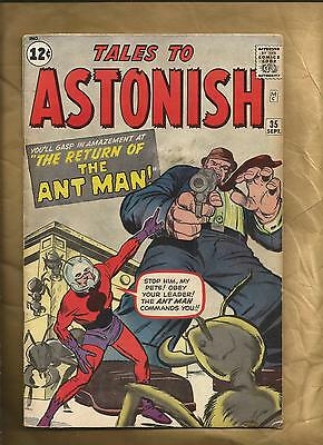 Tales to Astonish #35 1962 cents 1st Ant-Man in costume Marvel Comics US Comics