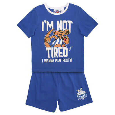AFL North Melbourne Toddlers Pyjama Set.