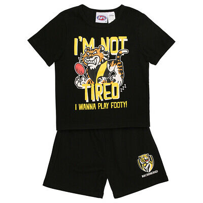 AFL Richmond Toddlers Pyjama Set.