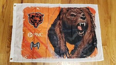 2018 Chicago Bears Monsters of the Midway Flag 24 x 36   Free Shipping