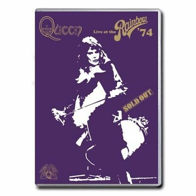 QUEEN - Live At The Rainbow 1974 DVD *NEW* NTSC Region 0