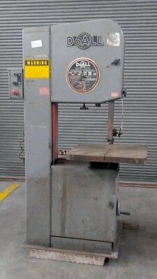 "DoALL MODEL 2013 VERTICAL BAND SAW 13"" X 20"" CAPACITY"