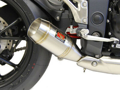 GP Slip On Exhaust Competition Werkes WT1051-S for 11-15 Triumph Speed Triple