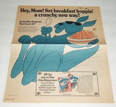 1975 Nabisco Bopperoos Newspaper Ad