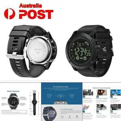 2019 New T1 Tact - Military Grade Super Tough Waterproof  Bluetooth Smart Watch