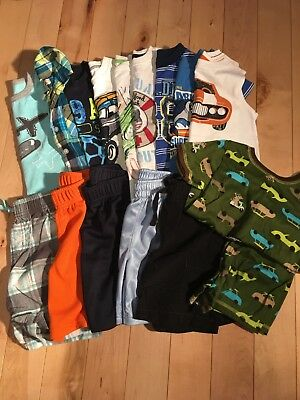 Boy's 3T Summer Clothing Lot Including 15 Items