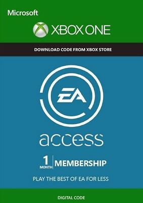 EA Access 1 Month Xbox One code digital Región Free