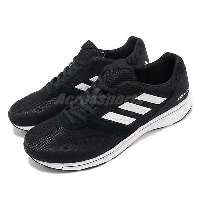 adidas Adizero Adios 4 M Boost Black White Men Running Shoes Sneakers B37312 5ab6e5bb1