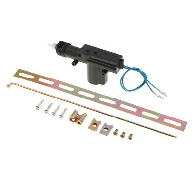 2 Wire 20mm 12V Duty Car Central Power Door Locking Actuator Kit Safety