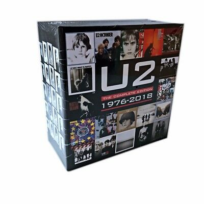 1976-2018 U2 The Complete Collection Edition 22 CD Box Set Music Disc Boxset