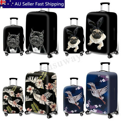 S-XL Siz Travel Luggage Suitcase Cover Protector Elastic Scratch Dustproof Cover
