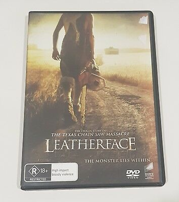 Leatherface Dvd (Ex-Rental)