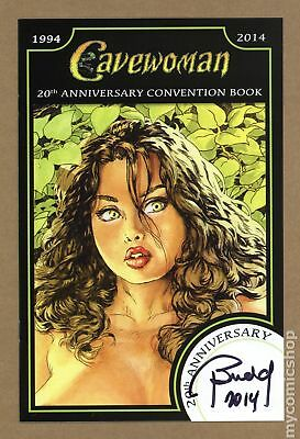 Cavewoman 20th Anniversary Convention Book 2014B VF/NM 9.0