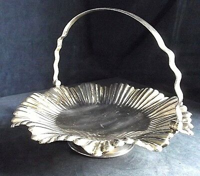 SUPERB ~ Mappin & Webb ~ SILVER Plated ~ FLUTED Snack / Rose BOWL ~ c1900