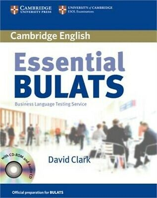 Essential BULATS: Business Language Testing Service [With CDROM] (Mixed Media Pr