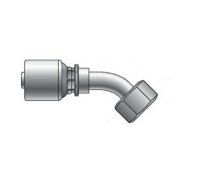 Gates BSP 45° Female Swept Elbow O' Ring Swivel