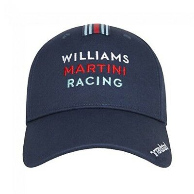 CAP Williams Martini Racing Formula One Team 1 F1 Hackett Sponsor Navy NEW!