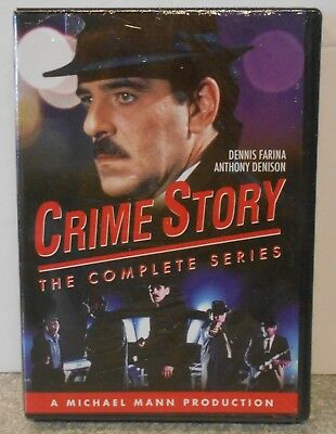 Crime Story: The Complete Series (DVD, 2017) BRAND NEW