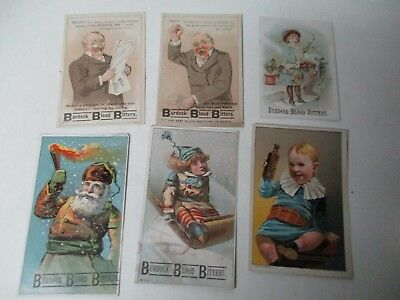 17 Very Old BURDOCK BLOOD BITTERS Assorted Trade Cards