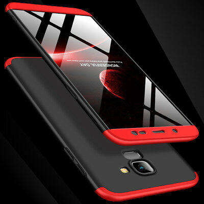 ShockProof Hybrid 360 TPU Thin Case Cover For Samsung Galaxy edge S8 S9 Plus UK