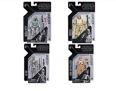 NEW! Star Wars The Black Series The Archive Collection Wave 1 -- ON THE WAY!! --