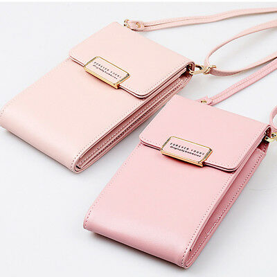 Multifunction Mini Crossbody Bag Wallet Phone Case Portable Small Coin Bag LD