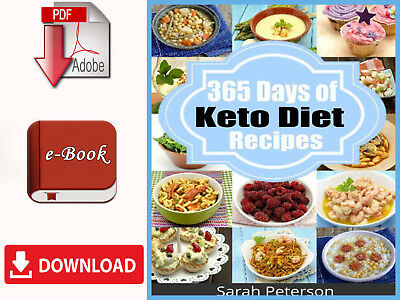 Ketogenic Diet : 365 Days of Low-Carb, Keto Diet Recipes for .. [E-B00K | PDF ]