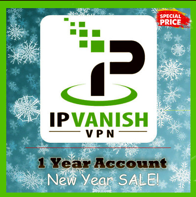IPVanish VPN 1Year Subscription 🔐  New-Year-SALE Instant Delivery (30s) 📥