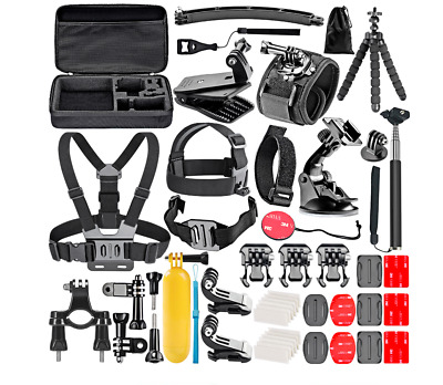 Accessories Kit Mount for Gopro Hero 7 6 5 Session 5 4+/SJCAM/Xiaomi yi EKEN H9R
