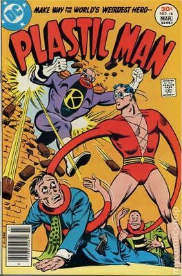 Plastic Man (1st Series DC) #16 1977 VG 4.0 Stock Image Low Grade