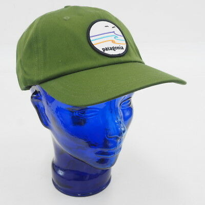 NEW! PATAGONIA UNISEX Tide Ride Trad Cap Adjustable (Green White ... be62bd1c18f