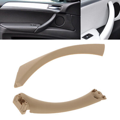 2PCS Replacement Right Interior/OUTER Door Panel Handle Trim for BMW 3Series