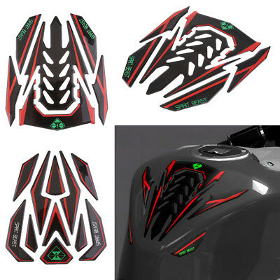 3D Motorcycle Reflective Fuel Tank Protector Pad Cover Sticker Fit Honda KTM