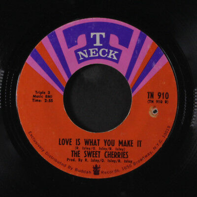SWEET CHERRIES: From The Beginning / Love Is What You Make It 45 (co, clean VG-
