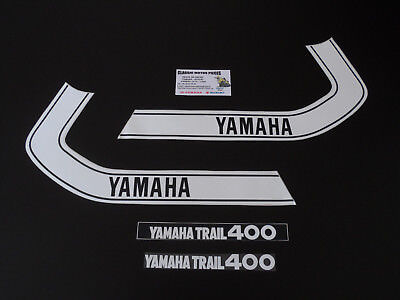 Dt 400  Yamaha  Annee 1974  Sickers Reservoir  /decal Set For Fuel Tank