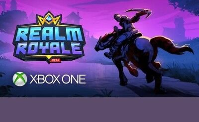 Realm Royale Closed Beta Complete Game Early access Xbox One Fast Delivery