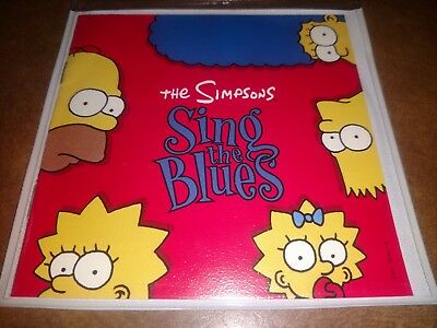 The Simpsons 'Sing The Blues' CD w/ Booklet & Slim Case