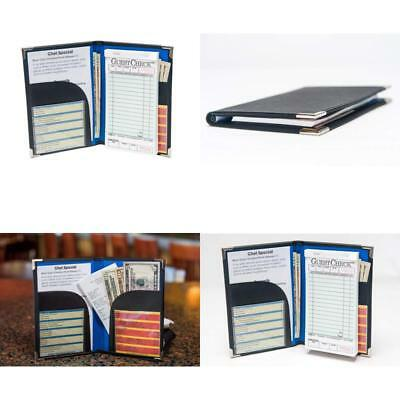 Server Order Book Notetaking Bifold Sized for Apron Wait Staff Order Books