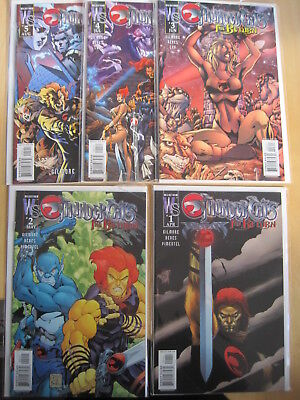 THUNDERCATS : The RETURN : COMPLETE 5 ISSUE WILDSTORM/ DC 2003 SERIES by GILMORE