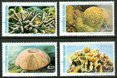 Thailand 1983 International Correspondence Week-Coral set of 4 Mint Unhinged