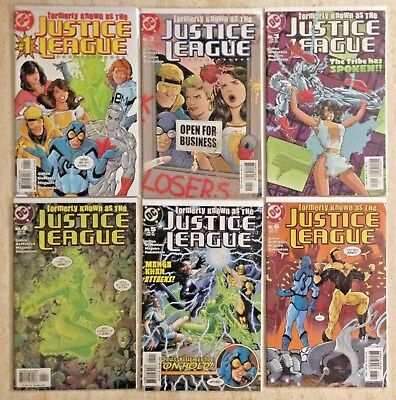 FORMERLY KNOWN AS THE JUSTICE LEAGUE 1-6 | 2003 | GIFFEN, DeMATTEIS, MAGUIRE!