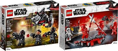 LEGO STAR WARS 75225 Elite Praetorian Guard Battle 75226 Inferno N1/19